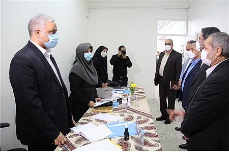 بازدیدمعاون پرورشی و فرهنگی وزارت آموزش و پرورش از دبیرخانه داوری جشنواره معلمان مؤلف   SOMAYEH NIKFEKR