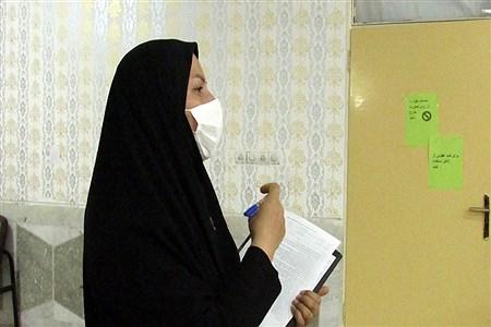 آماده سازی حوزه های آمتحانی در ناحیه 3 اهواز | Sajad Shamakhteh