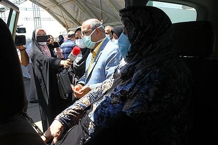 افتتاح سایت خودرویی تزریق واکسن در کشور   Behrooz Khalili