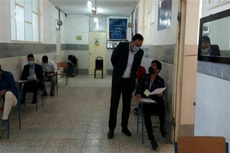 برگزاری امتحانات شبه نهایی پایه دوازدهم مدارس شهید اشرفی اصفهانی  و حضرت معصومه (س)    Abolfazl Moadab