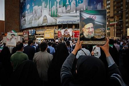 گردهمایی حامیان سیدابراهیم رییسی   Ali Sharifzade