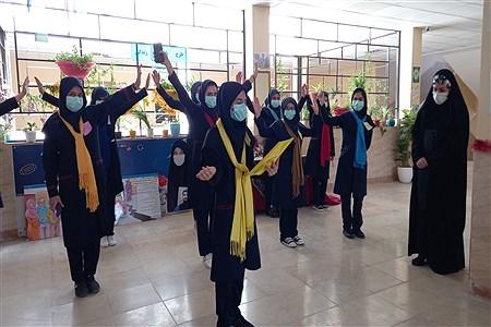 بازدید از مدارس مجری طرح کانونهای یاریگران زندگی در شهرستان رباط کریم  | Nazanin zahra aghajani