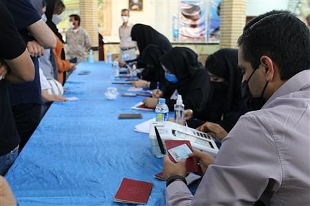 انتخابات ریاست جمهوری و شورای های شهرو  روستا در شهرستان امیدیه ۱۴۰۰   Fatimah  roshan