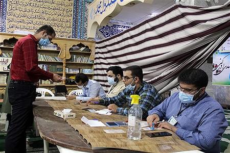 مشارکت و حضور مردم اهواز در انتخابات 1400-2 | Sajad Shamakhteh