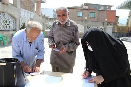 حضور مردم شهرستان گلوگاه در انتخابات خرداد 1400 | bita mojerloo