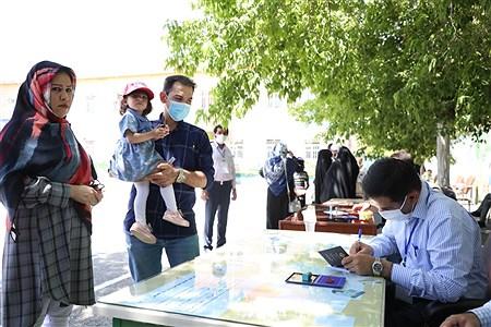 حضور مردم روستا های ارومیه در انتخابات 1400 | Amir Hosein Mollazade