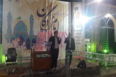 برگزاری  جشن ولادت امام رضا(ع) در امامزاده سید حمزه شهرستان کاشمر  | Abolfazl Moadab