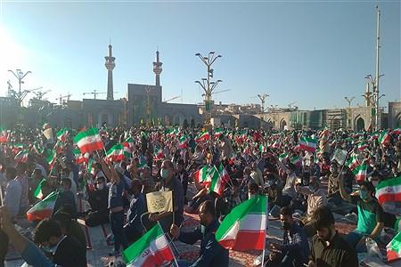 جشن ولادت امام رضا (ع) با حضور رئیس جمهور منتخب مردم در حرم مطهر رضوی | MojtabaSahebzamani