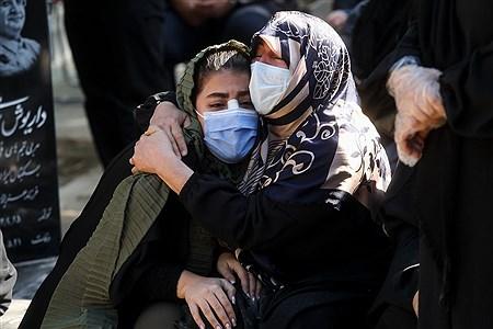مراسم تشییع پیکر خبرنگاران فقید ایسنا و ایرنا | Behrooz Khalili