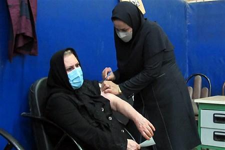 واکسیناسیون افرادبالای ۵۰ سال در اهواز     Sajad Shamakhteh