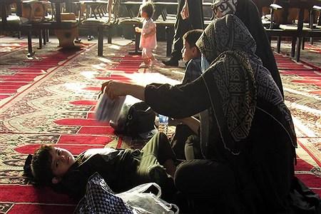 برگزاری آیین دعای عرفه در مصلی مهدیه امام خمینی (ره) اهواز |