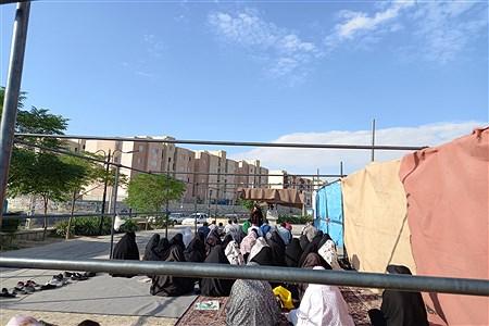 برگزاری نماز عید قربان در شهرستان رباط کریم    Nazanin zahra aghajani