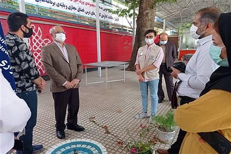 بازدید وزیر آموزش و پرورش از پاویون خبرنگاران پانا    SOMAYEH NIKFEKR