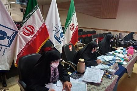مسابقات قرآن عترت و نماز دانش آموزان دختر سراسر کشور در بخش آوایی به میزبانی مشهد(۲) | Melika Rostamian