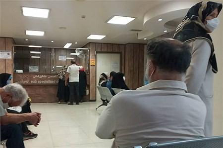 بیمارستان میلاد در ایام کرونا دلتا   SOGAND RAFIEI