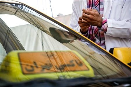 واکسیناسیون رانندگان تاکسی   Ali Sharifzade