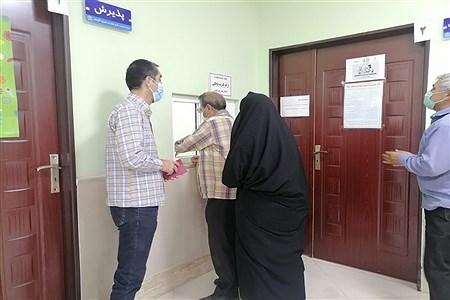 بازدید معاونت پرورشی و تربیت بدنی اموزش و پرورش کاشمر از  شروع واکسیناسیون کرونای فرهنگیان | MojtabaSahebzamani