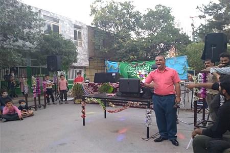 رژه موتوری به مناسبت  عید غدیر در مشهد   Ali Ziaee