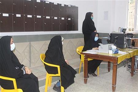 افتتاح طرح واکسیناسیون فرهنگیان شهرستان محمودآباد   Melisa Hoseini