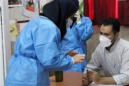 ایمن شدن 450 فرهنگی بهارستانی در مقابل ویروس کرونا  | Reza Nikjoo