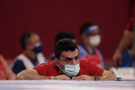 کاروان ایران در مسابقات المپیک 2020 توکیو   Farshad Abbasi