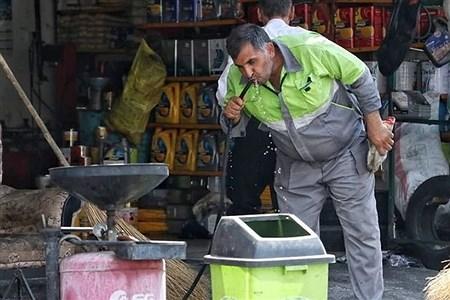اجرای طرح جهادی شست و شو معابر در  شهرک آبشناسان  | Bahar Afrasiabi