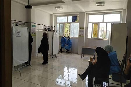 آغاز واکسیناسیون کووید ١٩  فرهنگیان در شهرستان قدس  | Naghi rohnawaz