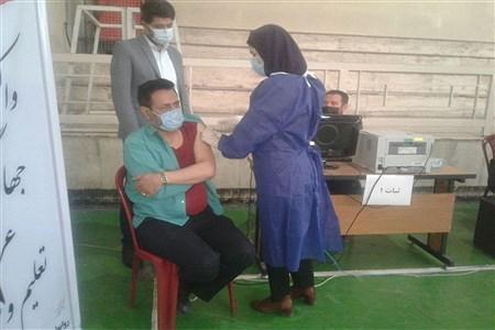 آغاز طرح واکسیناسیون فرهنگیان آموزش و پرورش رودهن | Sobhan Zahedi