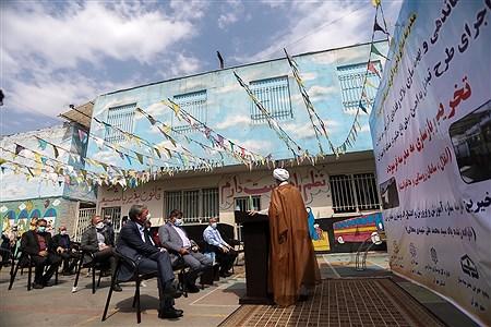 مراسم کلنگ زنی و تخریب و بازسازی سه مدرسه در منطقه 10 تهران | Bahman Sadeghi