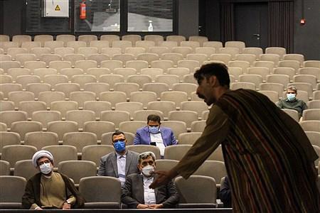 آئین افتتاح پردیس تئاتر و موسیقی، آمفی تئاتر روباز باغ کتاب تهران | Behrooz Khalili