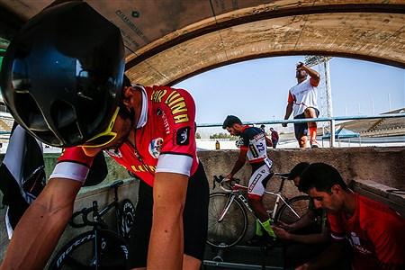 مسابقات قهرمانی کشور دوچرخه سواری پیست   Ali Sharifzade