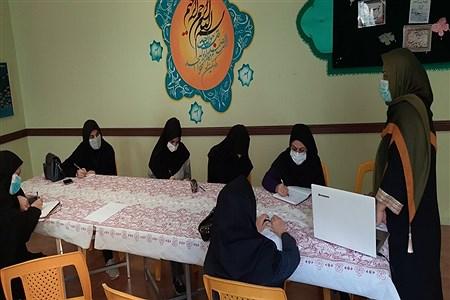 کلاس حضوری و مجازی دبستان شهید صدوقی و رضا نیکرو   tehran