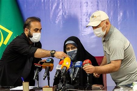 اولین نشست خبری معاون امور زنان و خانواده ریاستجمهوری | Behrooz Khalili