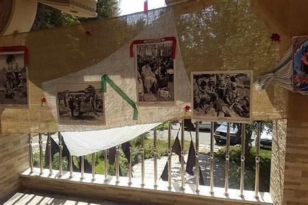 آماده سازی فضای آموزش و پرورش ملارد در هفته دفاع مقدس | Elnaz Merzaei