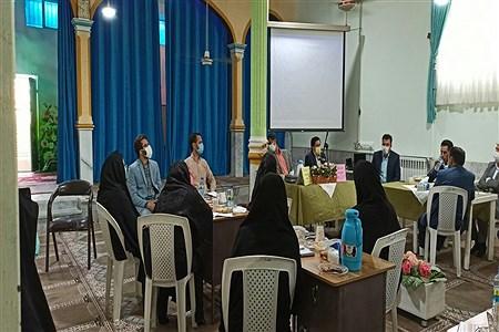 هم اندیشی مدیران متوسطه دوم کاشمر  با موضوع بازگشایی مدارس   MatinaMokarami