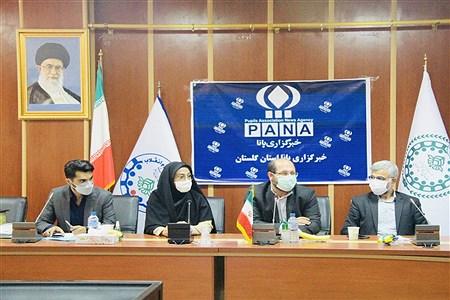 تجلیل از خبرنگاران برتر استان گلستان | AryanoushBateni/Mehran Mir