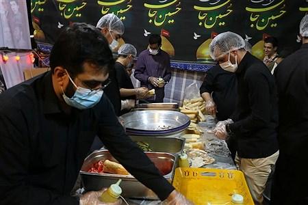 برپایی موکب الشهدا در ایام اربعین حسینی    | Razieh yousefi