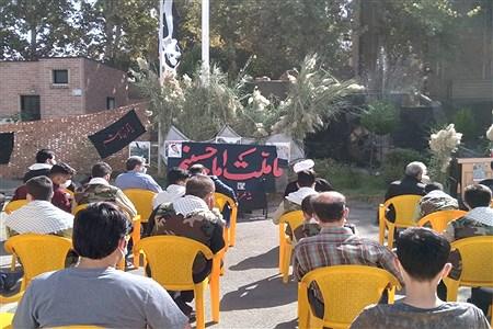 برگزاری مراسم گرامیداشت شهدا در اداره آموزش و پرورش ملارد | Zahra Einabadi
