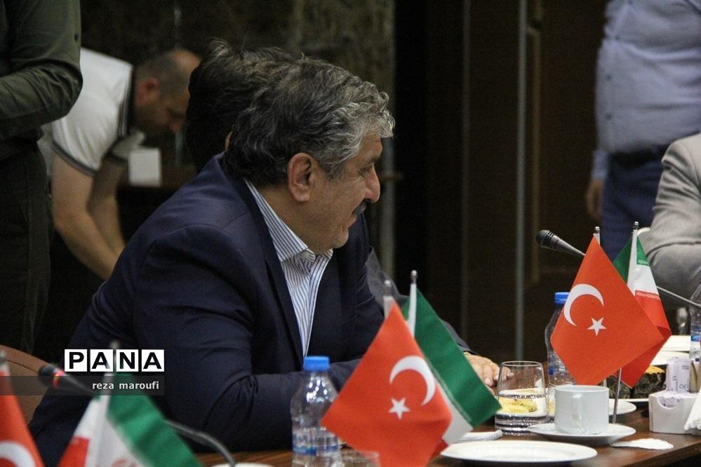 گزارش تصویری از اجلاس اقتصادی اتاق ارومیه و آژانس توسعه آناتولی شمال شرقی ترکیه