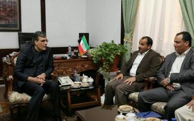دیدار نماینده انصارالله یمن با دستیار ویژه وزیر امورخارجه