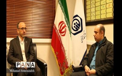دیدار مدیرکل تامین اجتماعی و رئیس سازمان دانش آموزی استان گیلان