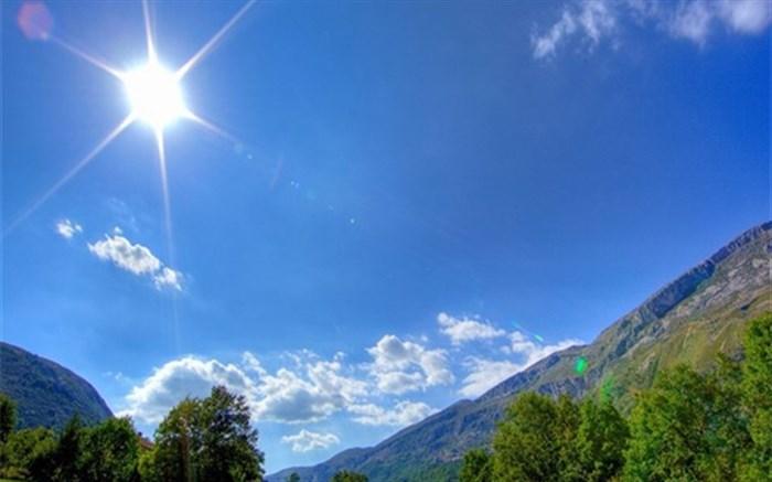 هوای اکثر مناطق کشور گرم میشود