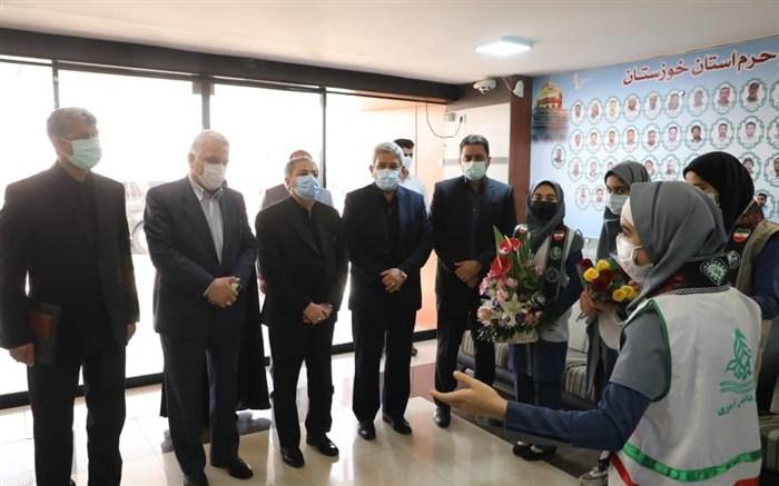 637683355841290862 سرپرست آموزش و پرورش برای دیدار با خانواده شهید علی لندی وارد خوزستان شد
